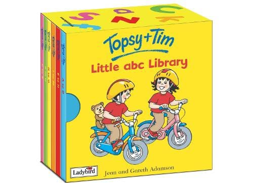 9781844225392: Topsy and Tim's Little abc Library (Topsy & Tim)