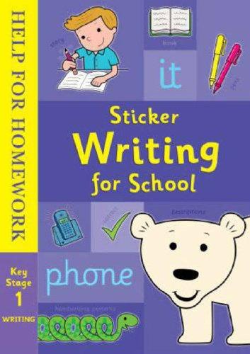 9781844226313: Help for Homework: Sticker Writing for School