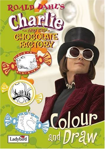 9781844227259: Charlie and the Chocolate Factory Colour and Draw Book