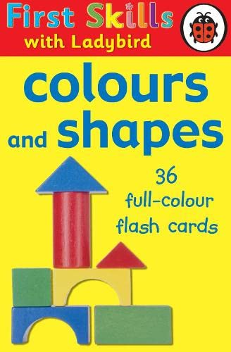 9781844227563: First Skills Colours and Shapes Flash Cards