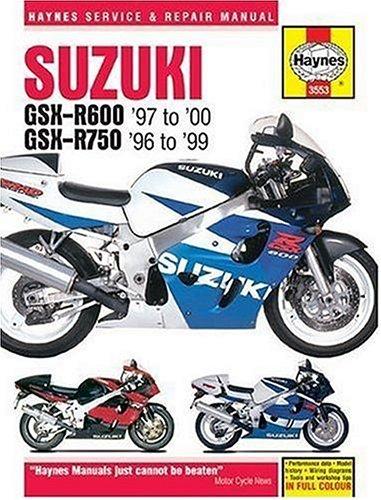 9781844250615: Suzuki: GSX-R600 '97 to '00 - GSX-R750 '96 to '99 (Haynes Repair Manuals)