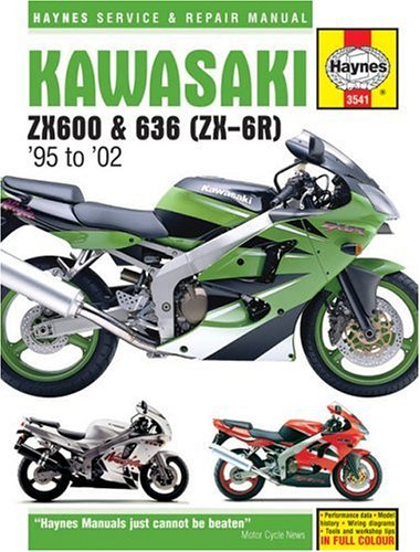 9781844250653: Kawasaki ZX600 & 636 (ZX-6R) 1995-2002 (Haynes Service and Repair Manual Series)