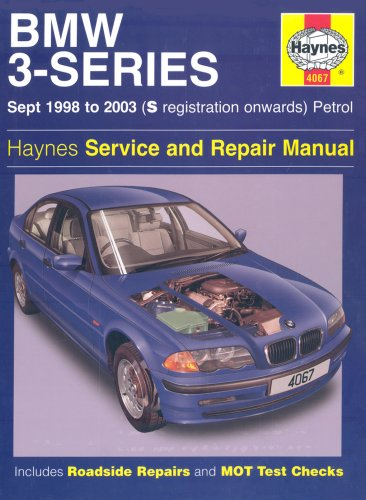 9781844250677: BMW 3-Series Petrol Service and Repair Manual: Sept 1998 to 2003: S Registration Onwards: Petrol: HA4067 (Haynes Service and Repair Manuals)
