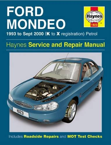 9781844250691: Ford Mondeo Service and Repair Manual: 1993 to Sept 2000 (K to X Reg) (Haynes Service and Repair Manuals)