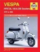 9781844250738: Vespa P/PX 125, 150 & 200 Scooters 1978-2003 (Haynes Repair Manuals)