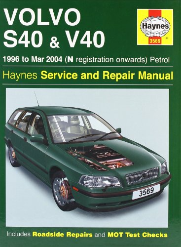 Volvo S40 And V40 Petrol  1996