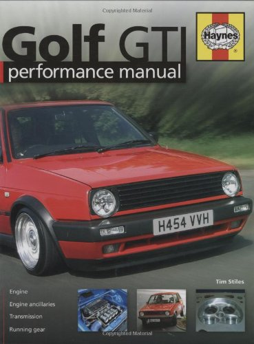 9781844251018: Golf GTi Performance Manual (Haynes Performance Manual)