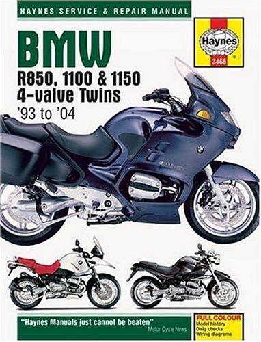 9781844251544: BMW R850, 1100 & 1150 4 Valvetwins 1993-2004 (Haynes Service & Repair Manual)