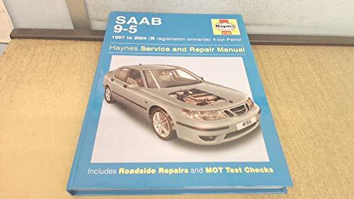 Saab 9-5 1997 to sep 2005 (Haynes Service and Repair Manuals) (9781844251568) by A.K. Legg