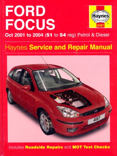 Ford Focus Petrol and Diesel: 2001-2004 (Haynes: Randall, Martynn