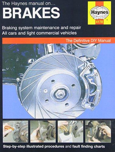 The Haynes Manual on Brakes (Board Books): Martynn Randall