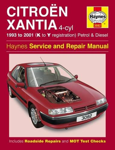 9781844251810: Citroen Xantia Petrol & Diesel (93 - 01) Haynes Repair Manual: 1993 to 2001 (K to Y Reg) (Haynes Service and Repair Manuals)