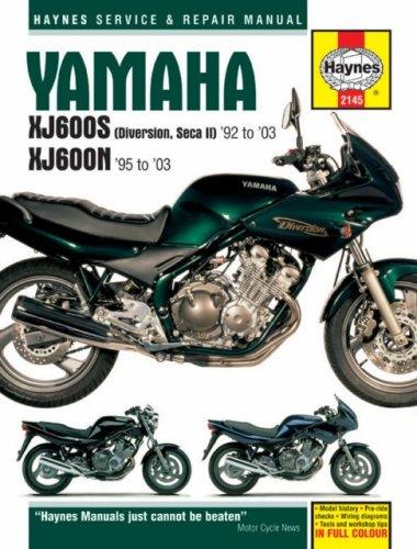 9781844251902: Yamaha XJ600S and XJ600N Service and Repair Manual: 1992 to 2003 (Haynes Service and Repair Manuals)