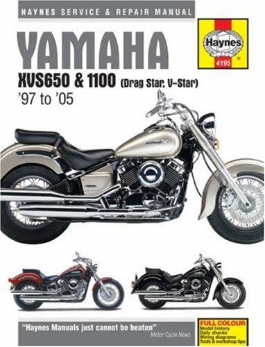 Haynes Yamaha XVS650 & 1100 '97 to '05 (Hardcover): Phil Mather