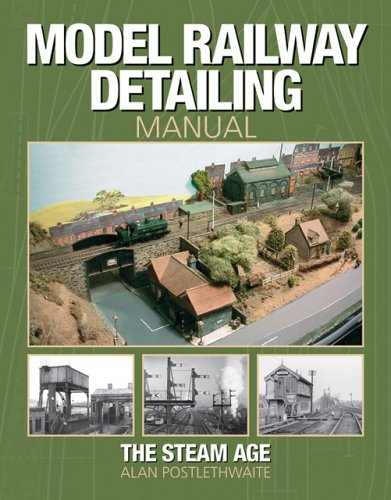 Model Railway Detailing Manual: A source book of period photographs from the Steam Age