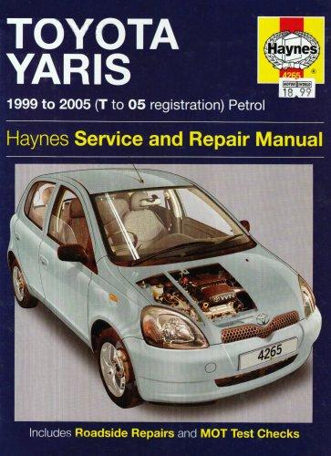 9781844252657: Toyota Yaris Petrol Service and Repair Manual: 1999 to 2005
