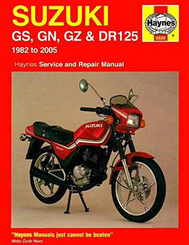 Suzuki GS, GN, GZ and DR125 Service and Repair Manual: Churchill, Jeremy