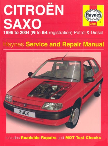 9781844252800: Citroen Saxo Petrol and Diesel Service and Repair Manual: 1996 to 2004 (Haynes Service and Repair Ma