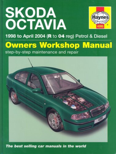9781844252855: Skoda Octavia Petrol and Diesel Service and Repair Manual: 1998 to 2004 (Haynes Service and Repair Manuals)