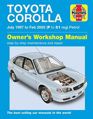 9781844252862: Toyota Corolla Petrol Service and Repair Manual: 1997 to 2002 (Haynes Service and Repair Manuals)