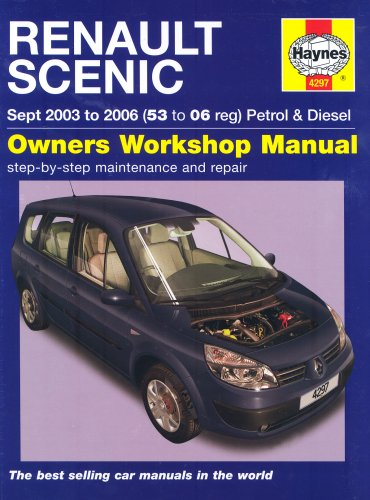 9781844252978: Renault Scenic Petrol and Diesel Service and Repair Manual: 2003 to 2006 (Service & repair manuals)