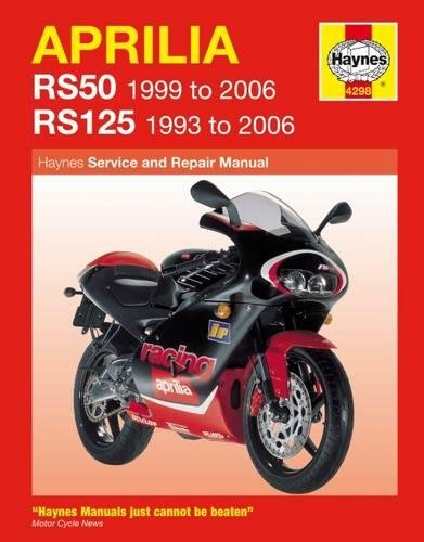 9781844252985: Aprilia RS50 and 125 Service and Repair Manual: 1993 to 2006 (Haynes Service and Repair Manuals)