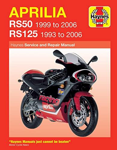9781844252985: Aprilia RS50 1999 to 2006/RS125 1993 to 2006(Haynes Service & Repair Manuals)