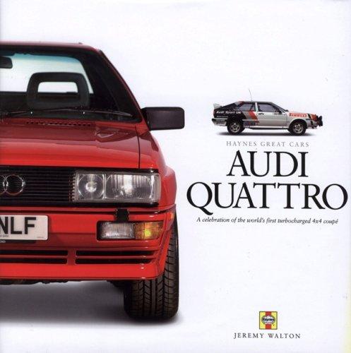 9781844253302: Audi Quattro (Haynes Great Cars Series)