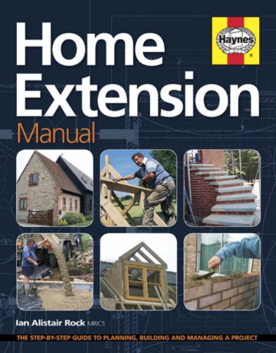 home extension manual by ian alistair rock haynes publisher rh abebooks co uk Proces Manual Manual RV Steps