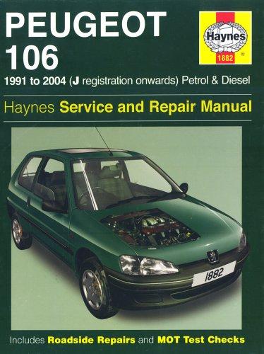 9781844253616: Peugeot 106 Petrol and Diesel Service and Repair Manual: 1991 to 2004 (Haynes Service and Repair Man