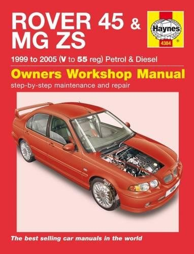 9781844253845: Rover 45 / MG Zs Petrol & Diesel (99 - 05) V To 55
