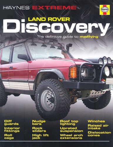 9781844253869: Land Rover Discovery Modifying Manual (Haynes Service and Repair Manuals)