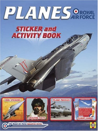 9781844254651: Planes of the RAF: Sticker and activity book (Squadron Series)