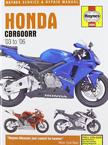 Honda CBR600RR Service and Repair Manual: 2003: Coombs, Matthew