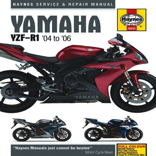 9781844256051: Yamaha YZF-R1 Service and Repair Manual: 2004 to 2006 (Haynes Service and Repair Manuals)