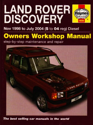 Land Rover Discovery Diesel Service and Repair Manual: 1998 to 2004 (Haynes Service and Repair ...