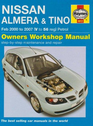 9781844256129: Nissan Almera and Tino Petrol Service and Repair Manual (Haynes Service and Repair Manuals)
