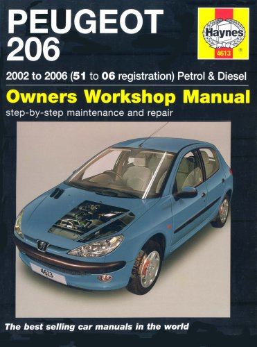 9781844256136: Peugeot 206 Petrol and Diesel Service and Repair Manual: 2002 to 2006 (Haynes Service and Repair Man