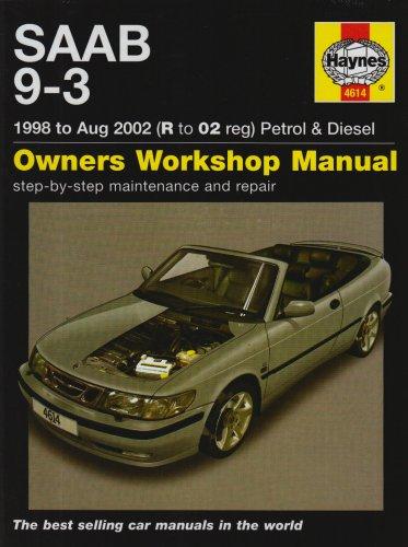 9781844256143: Saab 9-3 Petrol and Diesel Service and Repair Manual: 1998 to 2002 (Haynes Service and Repair Manuals)