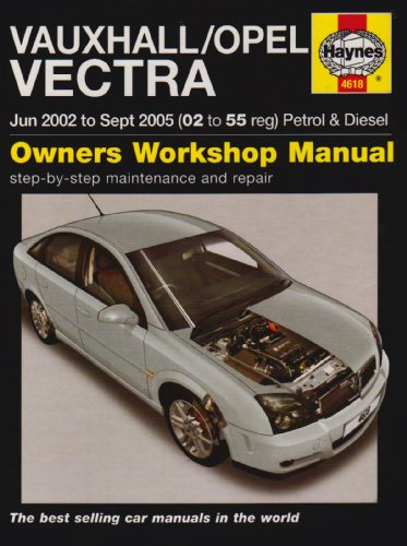 9781844256181: Vauxhall/Opel Vectra Petrol and Diesel Service and Repair Manual: 2002-2005