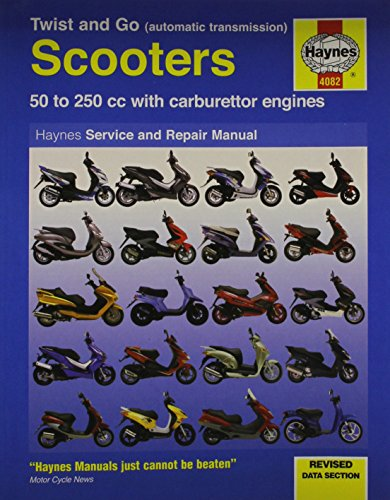 9781844256259: Twist and Go Scooter Service and Repair Manual (Haynes Motorcycle Manuals)