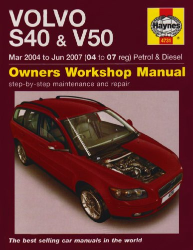 9781844257317: Volvo S40 and V50 Petrol and Diesel Service and Repair Manual: 2004-2007 (Haynes Service and Repair Manuals)