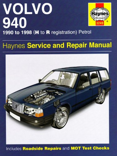 9781844257393: Volvo 940 Petrol Service and Repair Manual: 1990 to 1998 (Haynes Service and Repair Manuals)