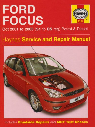 9781844257416: Ford Focus Petrol and Diesel Service and Repair Manual: 2001 to 2005 (Service & repair manuals)