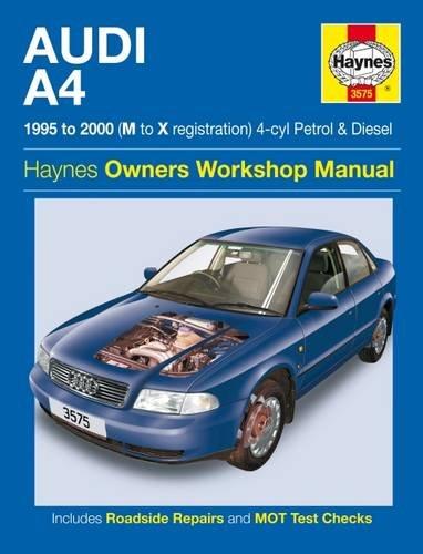 9781844257430: Audi A4 Petrol and Diesel Service and Repair Manual: 1995 to 2000 (Haynes Service and Repair Manuals