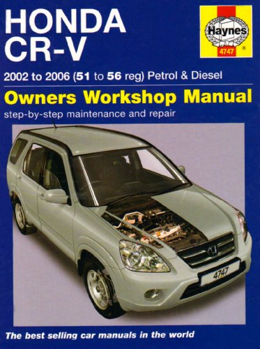9781844257478: Honda CR-V Petrol & Diesel 2002 to 2006