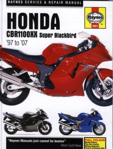 Honda CBR11000XX Super Blackbird '97 to '07 (Haynes Service & Repair Manual): Haynes,...