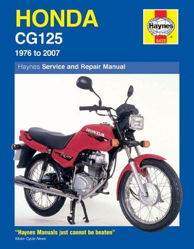 9781844257539: Honda CG125 Service and Repair Manual: 1976 to 2007 (Haynes Service and Repair Manuals)