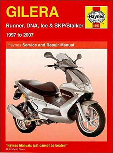 9781844257652: Gilera Runner, DNA, Ice and SKP/Stalker Service and Repair Manual: 1997 to 2007 (Haynes Service and Repair Manuals)