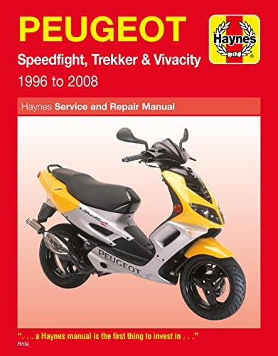 9781844257720: Peugeot Speedfight, Trekker (TKR) and Vivacity Service and Repair Manual: 1996 to 2008 (Haynes Service and Repair Manuals)